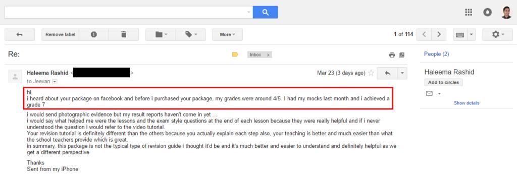 Haleema Rashid Email